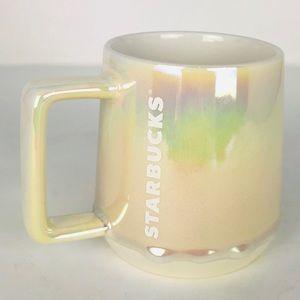 Starbucks Holiday Ceramic Mug 2019 Iridescent MELT